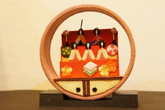 京の町家 3月 ひな祭り/袋棚