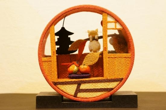京の町家 10月 かき/離れ小屋