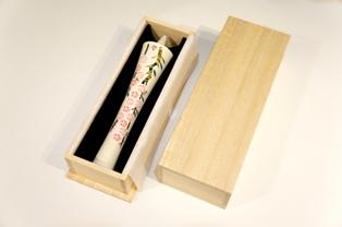 絵ろうそく 30匁 桜(白)