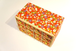 かほり屋 十二種セット桐箱(赤)