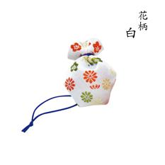 にほひ袋 うつりか花柄 白