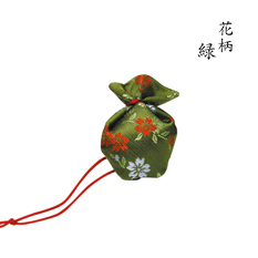 にほひ袋 うつりか花柄 緑