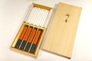 伽羅薫香(棒型3匁10本)
