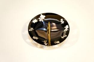透かし燭台 金魚(芯太)